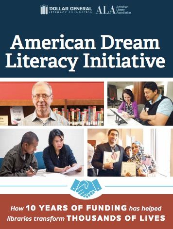 ALA's American Dream Literacy Initiative | INFOdocket