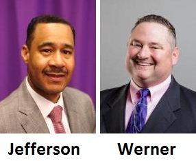 Julius C. Jefferson, Jr. and Lance Werner