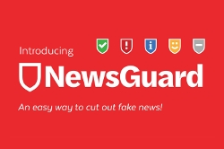 Newsguard logo with branding: