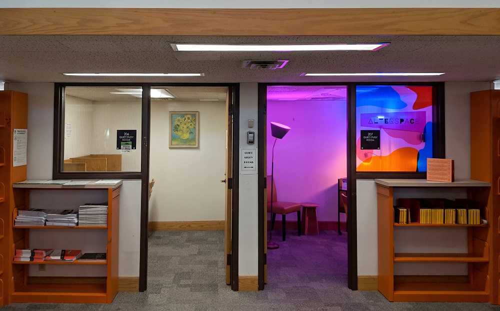 "Alterspace Transforms Libraries Into ""Rooms of Requirement"""