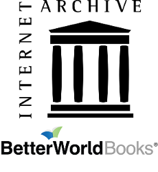 Internet Archive and Better World Books logos
