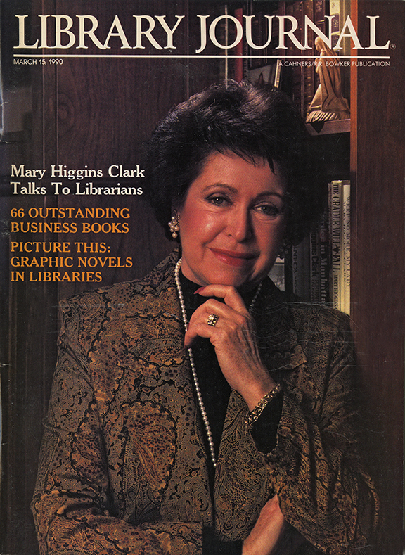 Mary Higgins Clark Discusses Books, Touring, and Libraries in this 1990 Interview with LJ