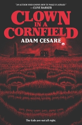 book cover of Clown in a Cornfield