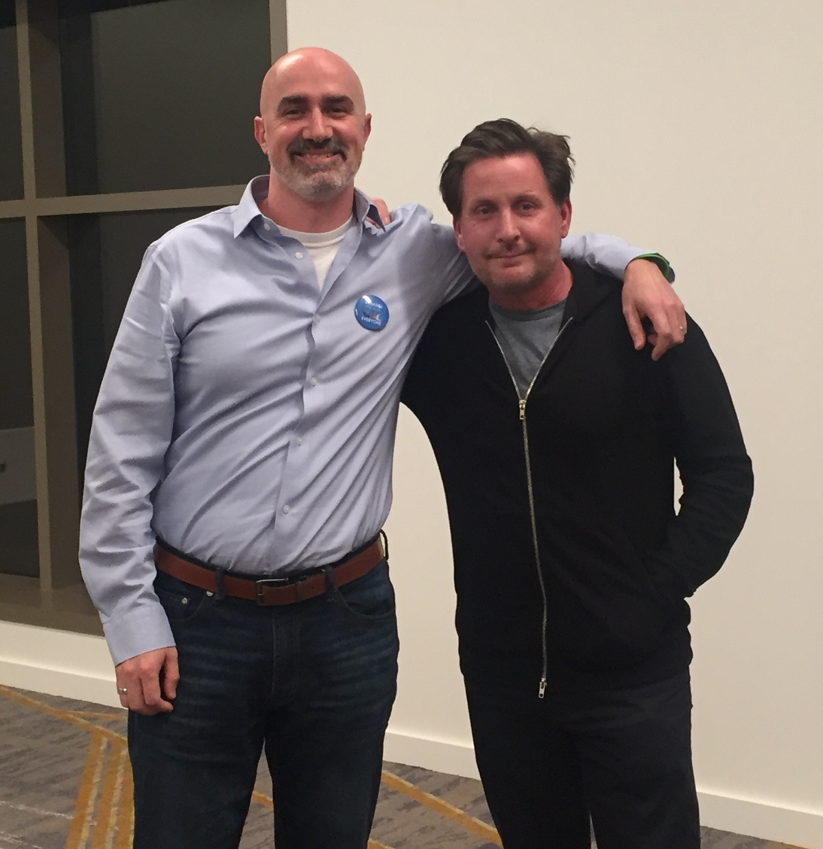Emilio Estevez, Back in the Library with The Public | ALA Midwinter 2019