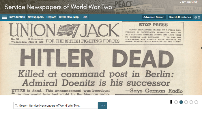 Service Newspapers of World War II