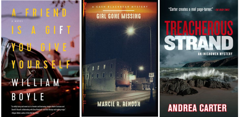 White's Pick of the Month, Berry's Breakout Debut, plus Burke, Carter, Dow, Dugoni, & Many More | Mystery & Suspense, April 2019