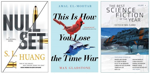 Winter's Debut of the Month, El-Mohtar/Gladstone, Forest, Hall, Huang, Thompson, Wendig, & More | SF/Fantasy, June 2019
