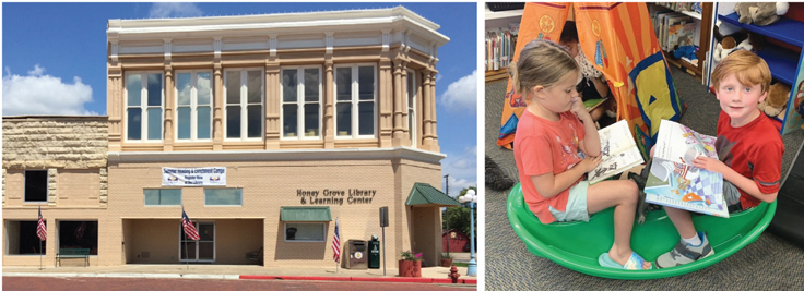Not Small Change: Honey Grove Library & Learning Center | Best Small Library in America