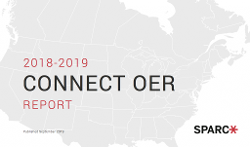 SPARC Connect OER Report Spotlights Institutional Efforts