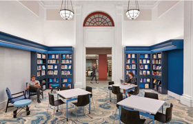 Ives Squared Library, New Haven Free Public Library, CT | New Landmark Libraries 2019
