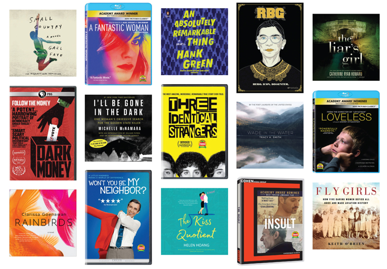 Best Audiobooks and DVDs of 2018