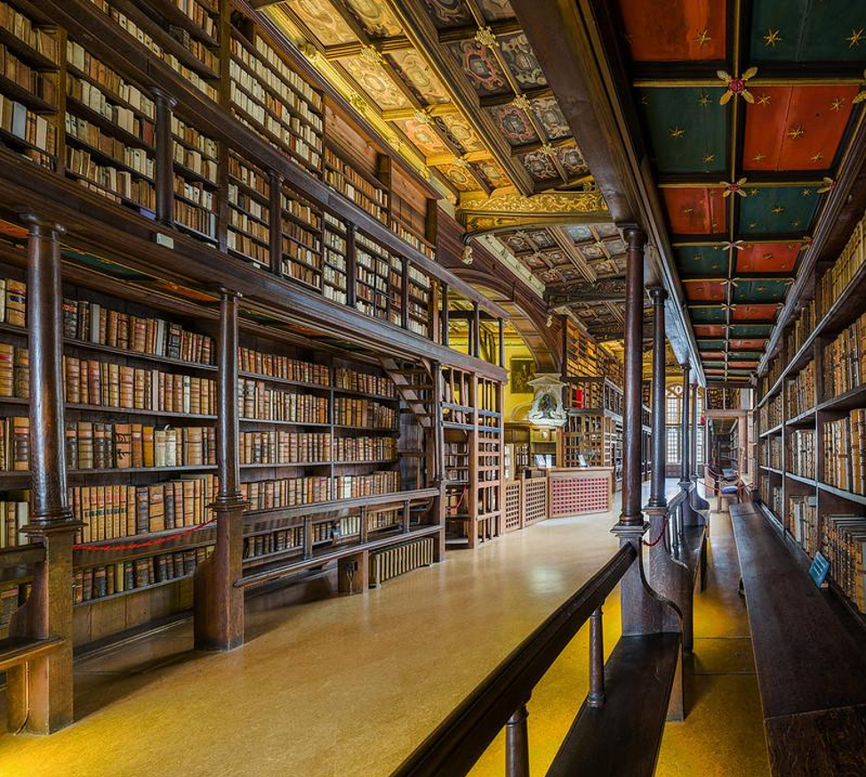 Bodleian Library interior