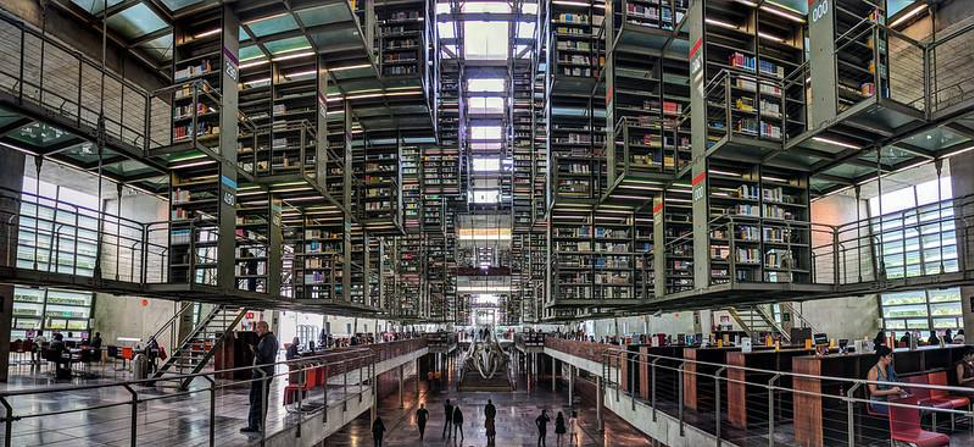 Vasconcelos Library interior