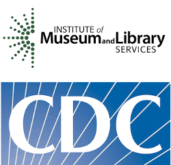IMLS and CDC logos