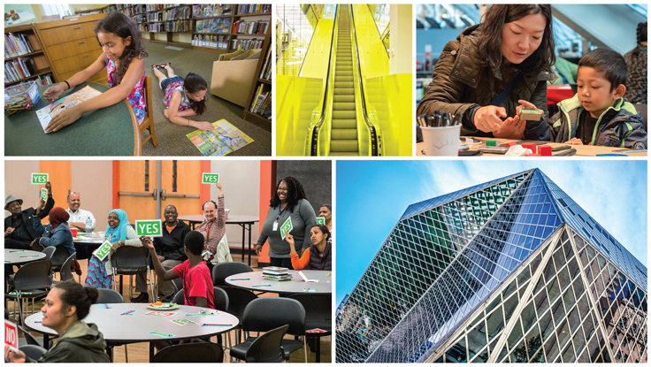 The Seattle Public Library Listens Up | Gale/LJ Library of the Year 2020