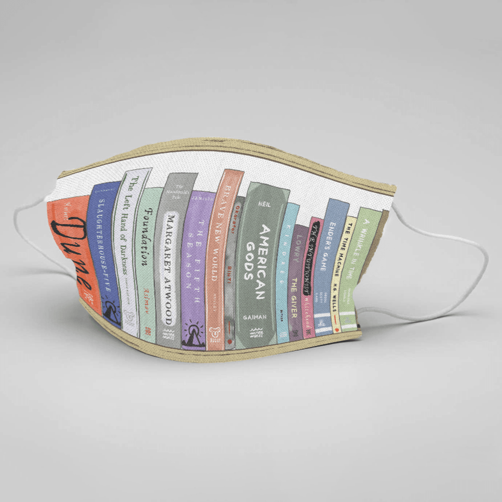 Put Your Nose in a Book: Masks, Library Style