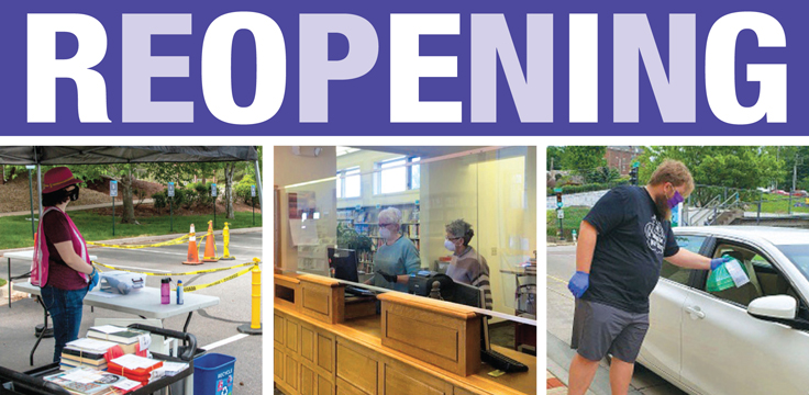 Reopening Libraries: Public Libraries Keep Their Options Open