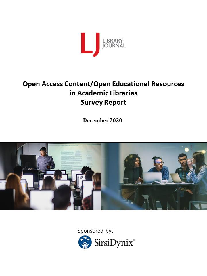 Library Journal Survey: Academic Library Open Access Use Up During Pandemic