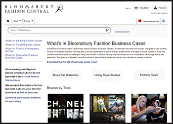 Bloomsbury Fashion Business Cases | Reference eReviews