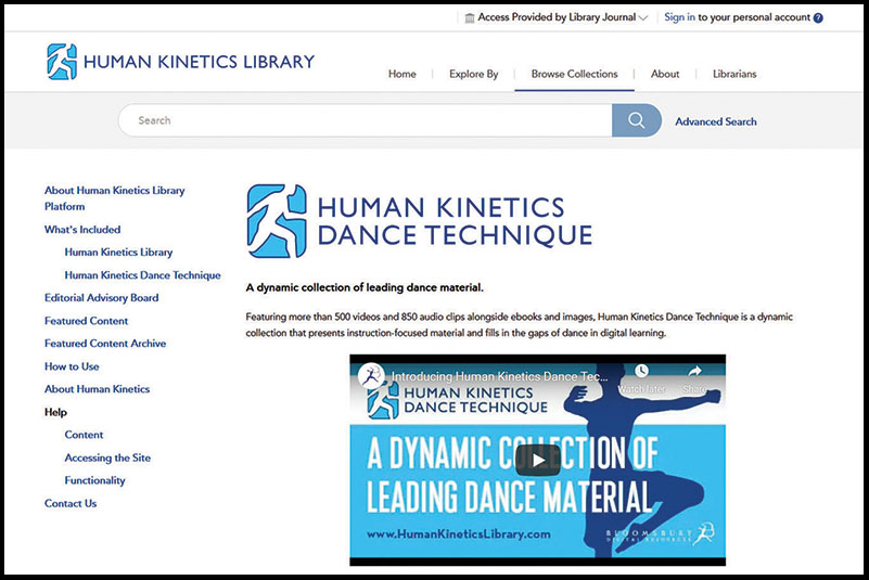 Bloomsbury Human Kinetics Library | Reference eReviews
