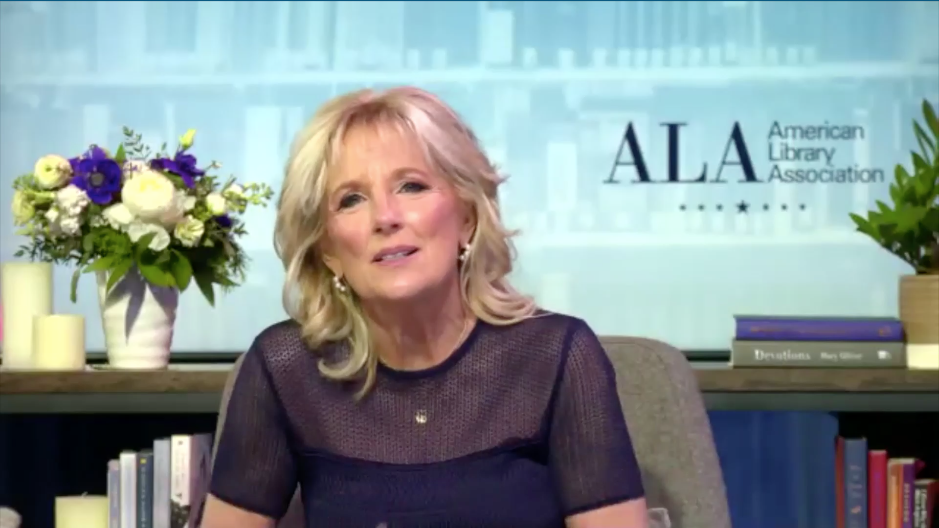 """Never Forget That What You're Doing Matters"": Dr. Jill Biden Closes Midwinter with Encouragement for Library Workers 