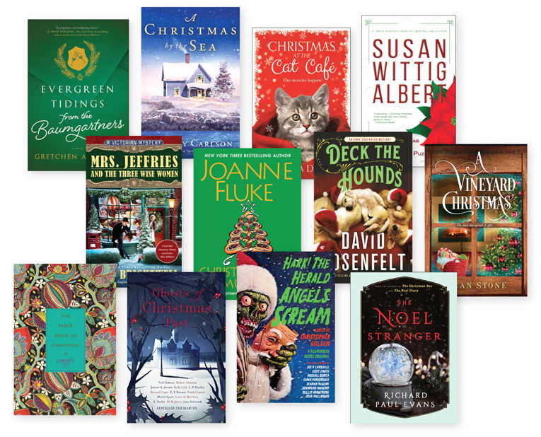Book The Halls: 28 Holiday Titles To Add to Your Wish Lists