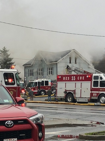 Pleasant Valley Free Library Regroups After Fire