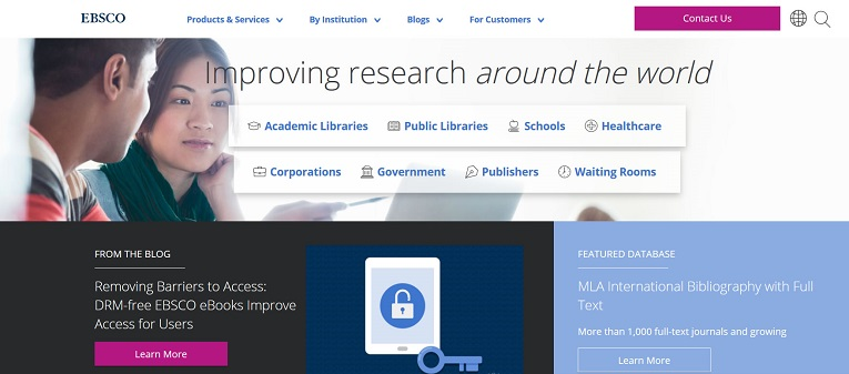 EBSCO's MLA International Bibliography with Full Text | Reference eReviews