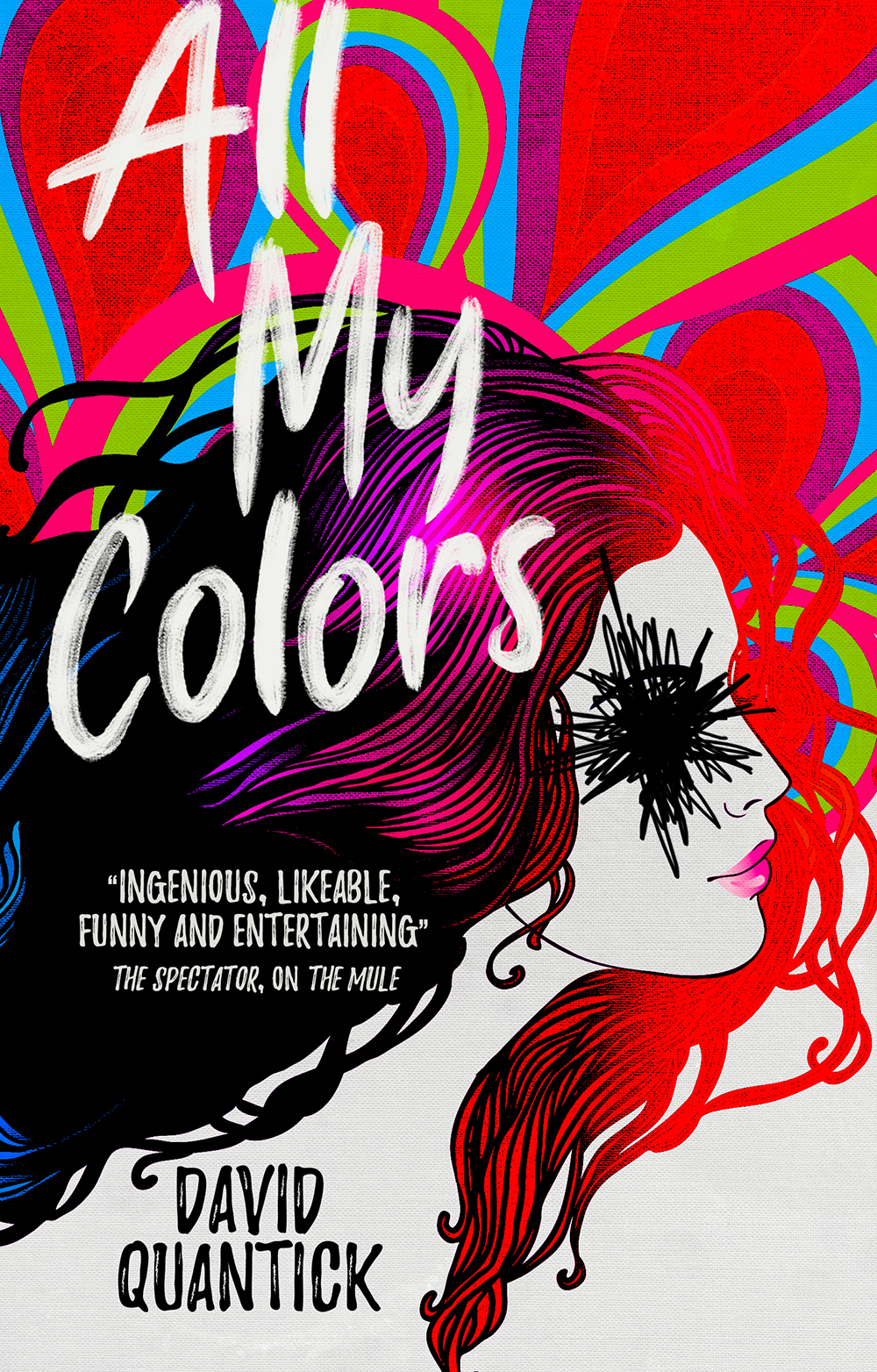A Writer's Rollercoaster Nightmare in <i>All My Colors</i>