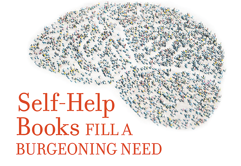 Self-Help Books Fill a Burgeoning Need