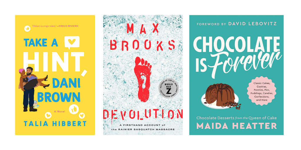 Max Brooks's Sasquatch Thriller, Talia Hibbert's Latest Rom Com, & 78 Other Stellar Titles | Starred Reviews, Apr. 2020