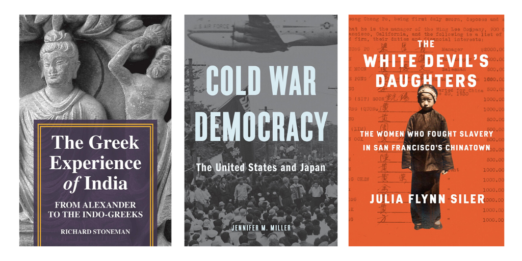 A New Take on Cold War Relations & the Fight Against Slavery in San Francisco: Academic Best Sellers on Asian History