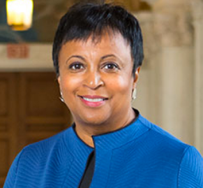 headshot of Librarian of Congress Carla Hayden