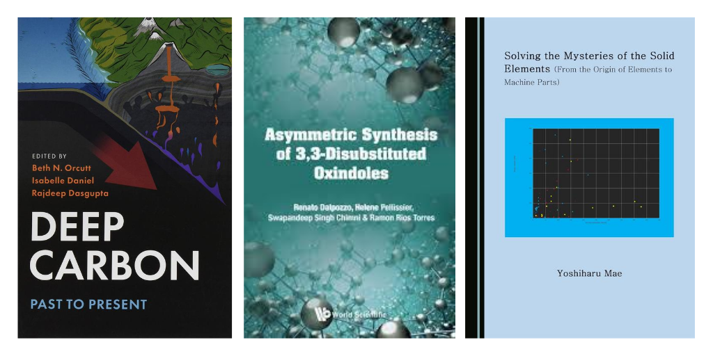 Industrial Biochemistry, Women's Contributions to the Periodic Table, Deep Carbon, & More in Chemistry Titles | Academic Best Sellers