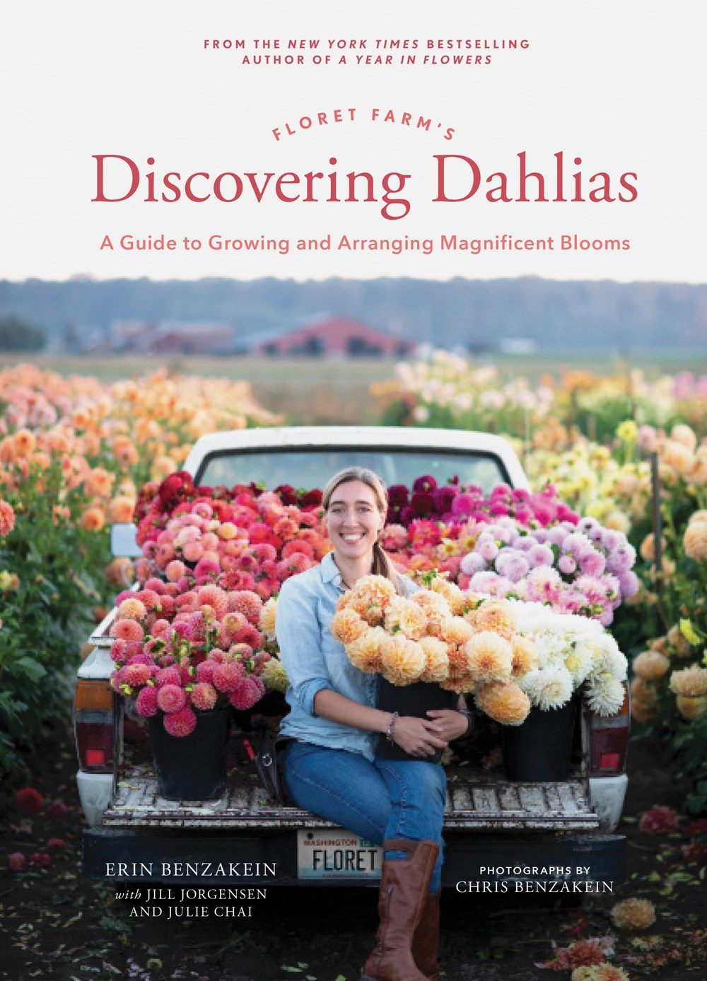A Conversation with Erin Benzakein, author of 'Floret Farm's Discovering Dahlias'