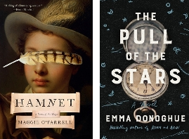 Emma Donoghue's 'The Pull of the Stars' & Maggie O'Farrell's 'Hamnet' Are This Week's Top Titles | Book Pulse