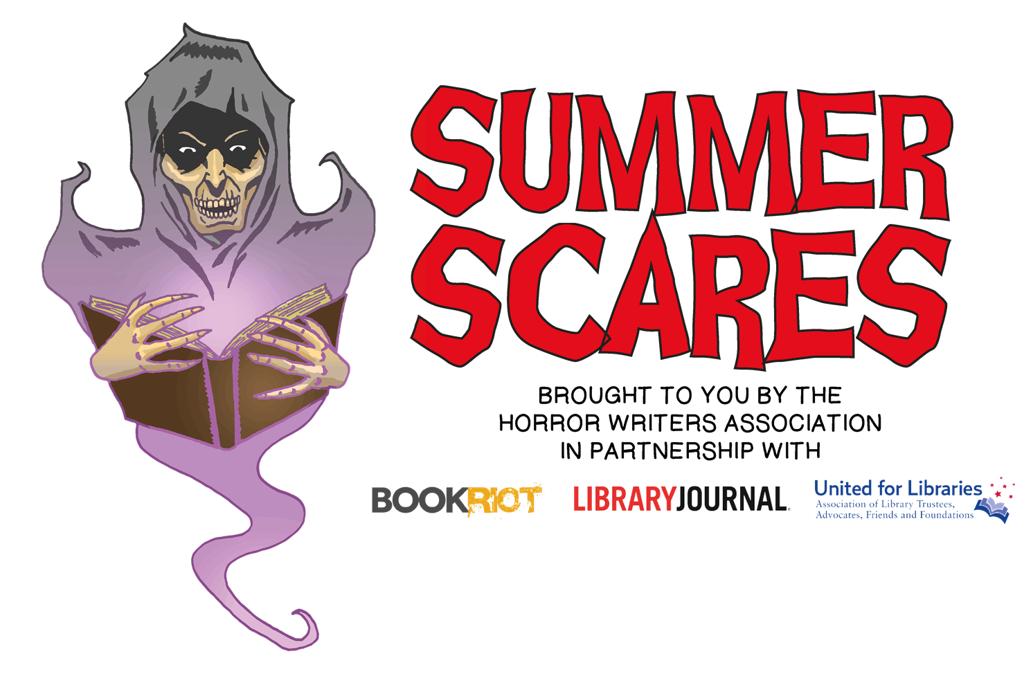 Horror Writers Association, Library Journal, & Partners Announce Second Annual Summer Scares Reading Program