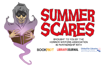 summer scares logo with a ghoul