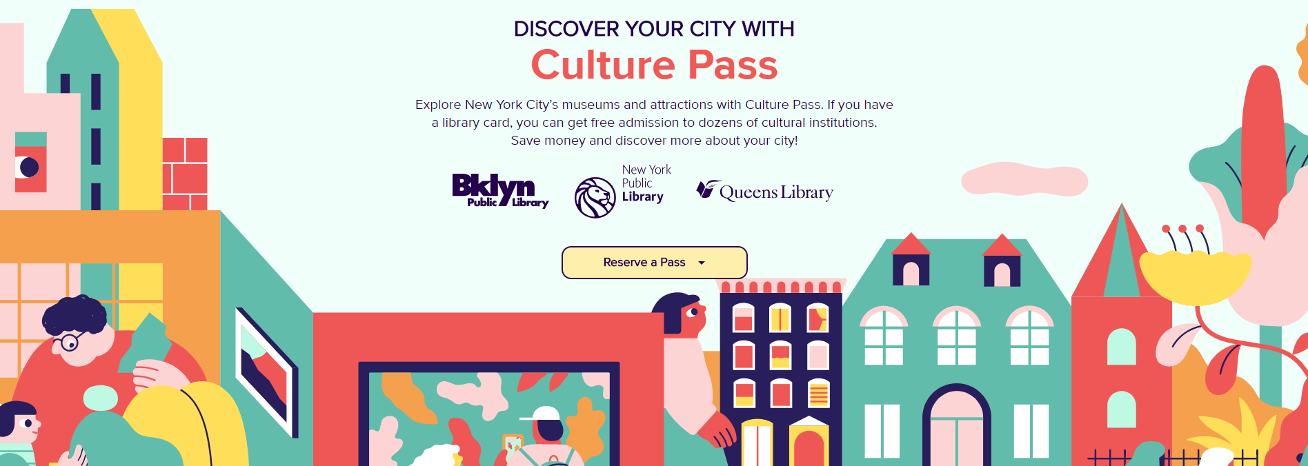 NYC Libraries Offer Free Digital Culture Pass | INFOdocket