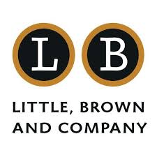 Little, Brown, and Co. Logo (the letters L and B in separate black circles with the name of the company below.)