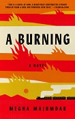 cover of Majumdar's A Burning