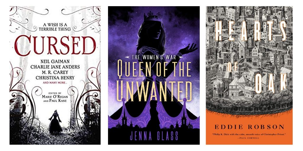 Boyden's Debut of the Month, plus Eddie Robson, Jenna Glass, Carrie Vaughn | Sf/Fantasy