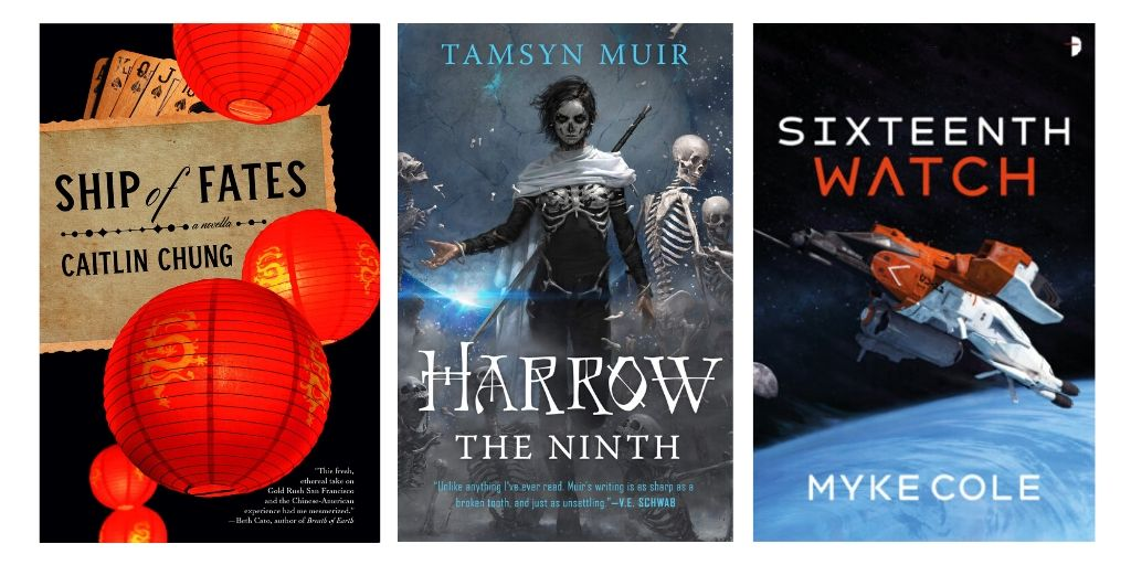 Vo's Debut of the Month, plus Muir, Chung, Cole, Gallagher, & More | Sf/Fantasy