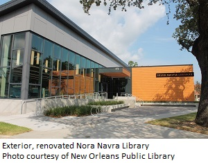 New Orleans's Nora Navra Library Reopens