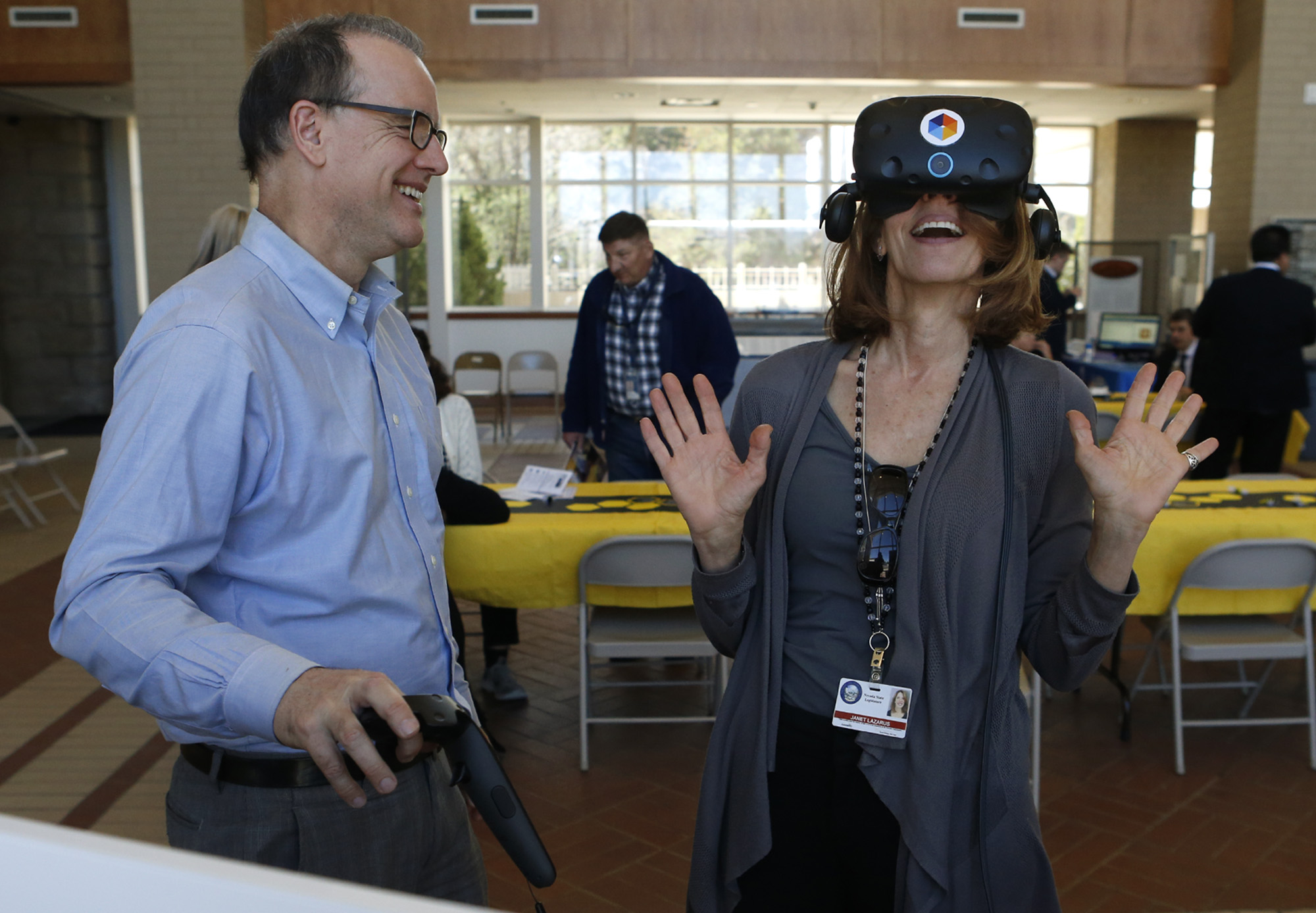 Nevada State Library Enters New Phase of Virtual Reality Project