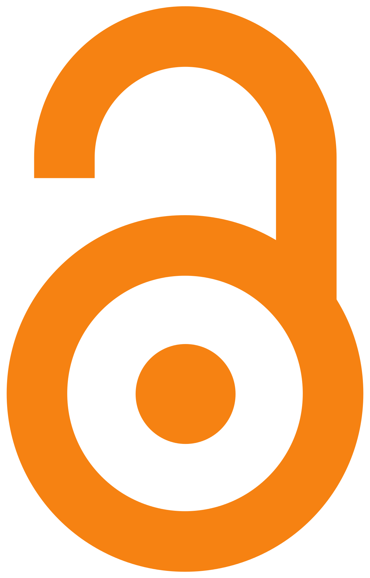 Open Access logo (stylized open lock)
