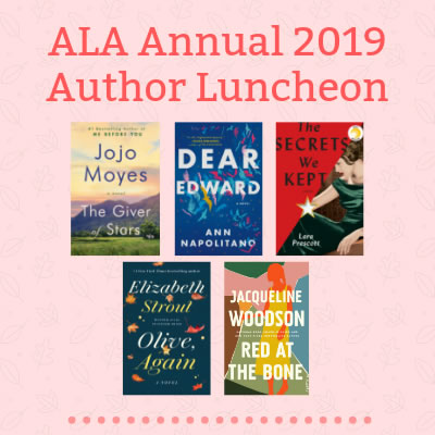 Authors In Their Own Words: Penguin Random House Library Marketing's  ALA Annual 2019 Author Luncheon