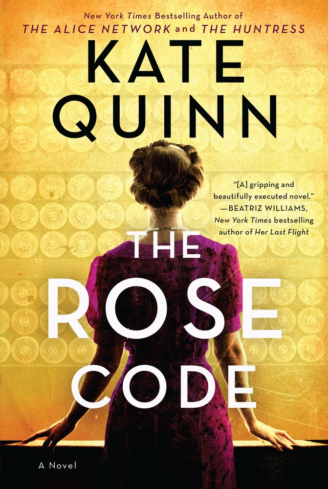 'The Rose Code' by Kate Quinn Tops Holds Lists | Book Pulse