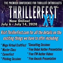 Thrillerfest 2020 Goes Virtual