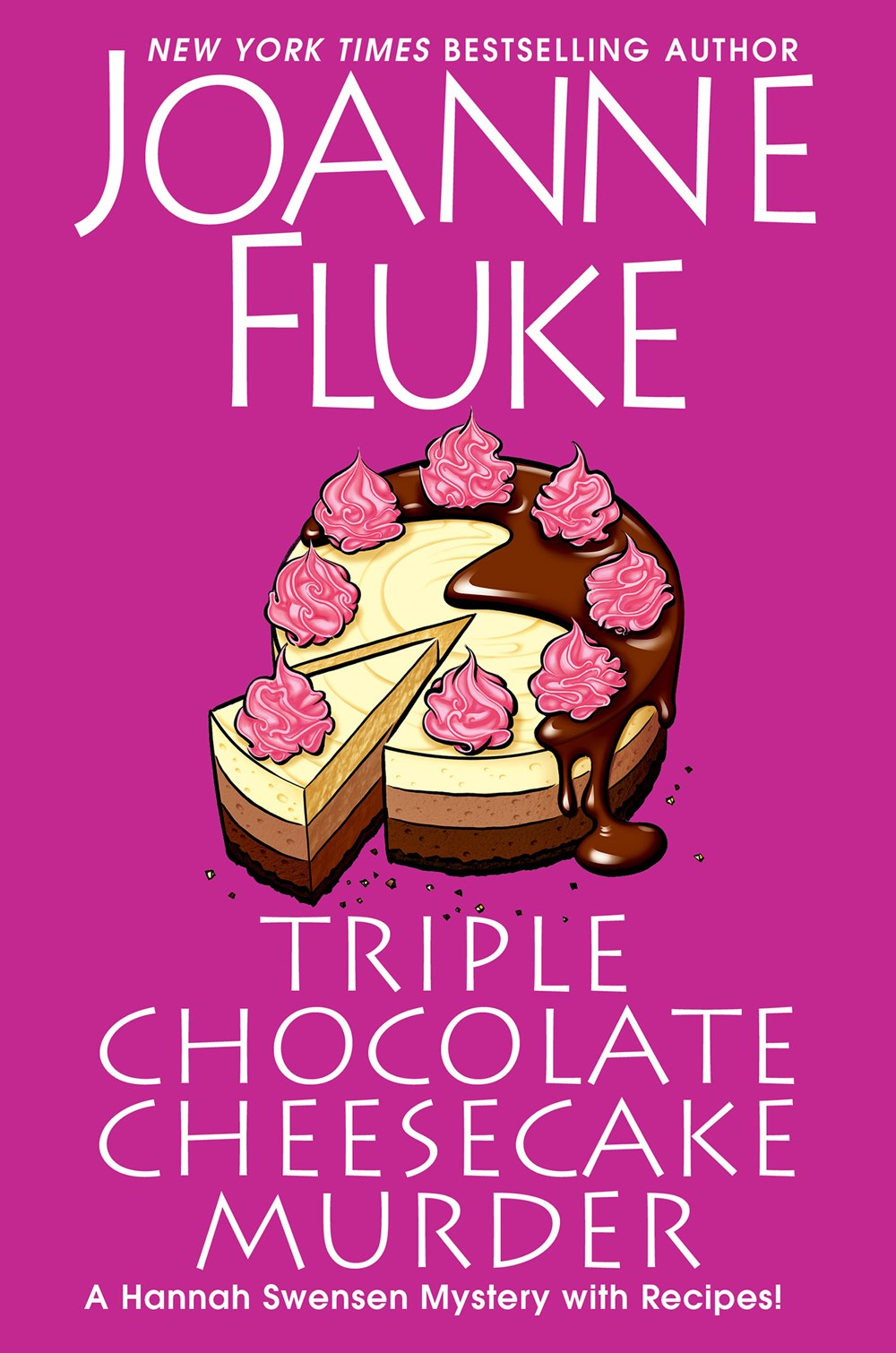 'Triple Chocolate Cheesecake Murder' by Joanne Fluke Tops Holds | Book Pulse